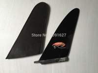 Wholesale Black color quot Fibreglass raceboard fin by
