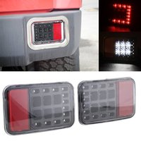 Wholesale LED Tail Rear Back Bumper Light Back up Reverse Lights Back Parking Light Brake Light Assembly for Jeep Wrangler JK