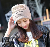 beautiful turbans - Hot beanie mix order fashion street hats beautiful scarf cutton turban with glasses style hip hop caps skull beanies