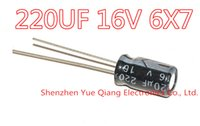 Wholesale uF V Electrolytic kapasitor V uF x mm aluminium kapasitor elektrolit ic
