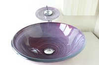 basin furniture - Modern Bathroom Glass Basin Glass Sink Basin bathroom furniture lavabo glass basin N