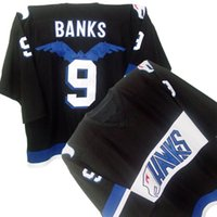 adam banks mighty ducks - Customized MIGHTY DUCKS HAWKS ADAM BANKS Hockey Jersey any Name and Number Stitched Jerseys