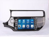 Wholesale Car DVD Radio Audio Multimedia Player GPS For KIA Rio Left Hand Drive Up Retail Pc