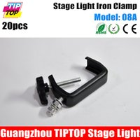 Wholesale Freeshipping KG C Shape Clamp Hook Bracket Truss Security Kit for Stage Lighting Fit Pipe mm Iron Materials A