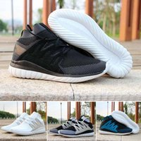 art packing boxes - 2016 Originals Tubular Nova Pack Primeknit Mens Running Shoes PK x Y3 Sock Ultra White Black Boost Trainers Snakers Shoes US5