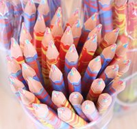 Wholesale Creative stationery students office stationery The six color colored pen Z915