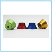 Wholesale E cig clearomizer Metal Base E cigarettes Holder Colorful E Cig Stand with thread screw for ego atomizer RDA