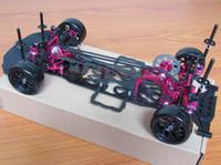awd electric car - 1 Alloy Carbon SAKURA D4 AWD WD Drift Racing Car Frame Body Kit KIT D4AWD
