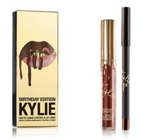best lips - Kylie Jenner Lipkit In LEO Limited Edition Birthday CONFIRMED Matte Lipstick Liner kylie Jenner Lip Kit Lipstick best gift