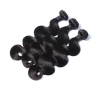 Wholesale Brazilian Body Wave A Unprocessed Virgin Human Hair Weave Bundles Brazilian Virgin Hair Body Wave Natural Black