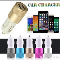 best portable ipad charger - Best Metal Dual USB Portable Car Chargers Universal Volt Amp for iPhone iPad iPod Samsung Motorola Droid Nokia Htc Chargers