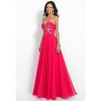 Cheap New Elegant Crystal Floor-Length Dresses Prom Vestidos De Festa Crystal Dress Evening Gown Party Long Royal Peacock Prom Dress