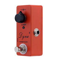 Wholesale Mini Dyna Compressor Overdrive Guitar Effect Pedal Clone MXR Dyna Compressor