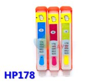 Wholesale For HP HP178 refillable ink cartridge For HP Photosmart B109a B109n B110a Plus B209a B210a Deskjet A printer