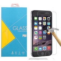 Wholesale For iPhone SE Plus S Plus Tempered Glass For iPhone s S C D Screen Protector With Retail Package