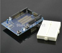 arduino uno breadboard shield - 2set UNO Proto Shield prototype expansion board with SYB mini breadboard based For ARDUINO UNO ProtoShield