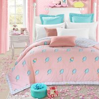 Wholesale yummy ice cream air condition quilt cm cm size quilted thin bedding Blanket Plaids