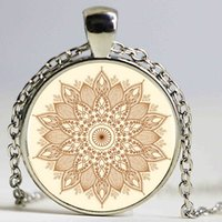 area pictures - New Fashion Area Rug Flower Necklace Heart Tattoo with flowers Jewelry Glass Art Picture Necklace
