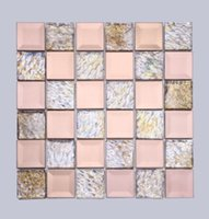 Wholesale Chinese modern background ceramic tile mosaic indoor mosaic background wall tiles factory direct D