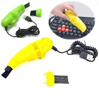 Wholesale Mini USB keyboard cleaner Computers Laptop notebook cleaning tools household cleaning vacuum cleaner Vacuum Brush home cleaning tool