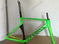 Wholesale Aeroad Rio Green Canyon Aeroad SLX Road Bicycle Frame Carbon Frame Size XXS XS S M L available colors for choice