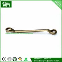 aluminium crimping machine - CHINA GOOD SUPPLIER Non sparking double offset ring spanner mm is made of copper aluminium bronze and beryllium bronze