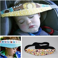 Wholesale HOT Adults and children adjustable belt Safety Car Seat Sleep Nap Aid Baby Kids Head Support Holder Belt Color LC327