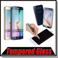 Wholesale 9h Real Premium Tempered Glass Screen Protector Protective Film For iPhone Plus Samsung Galaxy S7 S6 Edge Note A9 A8 A7 Free Ship