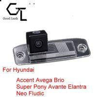 accent reverse camera - For Hyundai Accent Avega Brio Super Pony Avante Elantra Neo Fludi Wireless Car Auto Reverse CCD HD Rear View Camera Parking Assistance