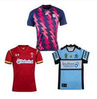 Wholesale New Zealand Welsh rugby shirt Rugby World cup Jerseys All Blacks RWC Rugby Jersey thai Quality Wear Camouflage Rugby Jerseys