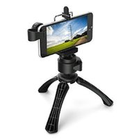 Wholesale Degrees Rotation Mobile Camera Tripod Phone Clip Holder for Apple iPhone samsung phone and Gopro Camera CL JJ01Clip