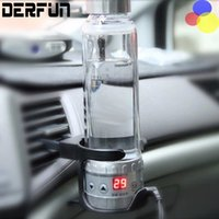 Wholesale Auto v heating cup V Car Electric Kettle Cars Thermal Mug Heater Cups Boiling Water bottle auto accessories