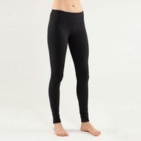 Wholesale 2016 High Quality Women Yoga Pants Overall Lulu Yoga Groove Pants for Women girls Yoga Harem pants Model Size XXS XL Colors