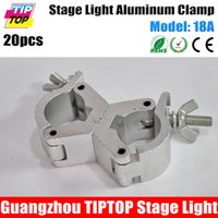 bar pipe clamp - TIPTOP Freeshipping A Aluminium mm Heavy Duty Stage Lighting Bar Light Clamp LED PAR Cans Double Clamp Assemble mm Pipe