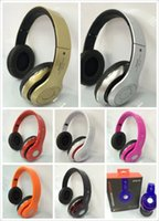 bass combo - STN head mounted heavy bass Cell Phone Earphones Bluetooth stereo headset combo MP3 player FM radio