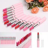Wholesale 12 Colors Set Makeup Matte Lipstick Long Lasting Waterproof Lip Gloss Pink Beauty Cosmetics Tools