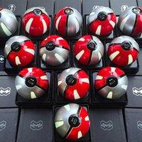 Wholesale Newest Poke power bank mAh for Poke AR game powerbank with Poke ball LED light portable charge figure toys