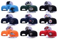 Wholesale All Team Football Cap Raiders Snapback Classic Collection Alternate Cap Team Adjustable Soccer Hat Fashion Sports Cap