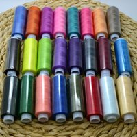 Wholesale 24 Color Spools Finest Quality Sewing All Purpose Pure Cotton Thread Reel