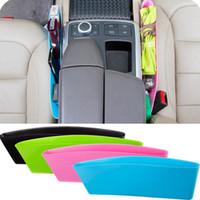 Wholesale Newest car styling car seat pocket catcher car storage box automobile glove box Colors Catch Catcher Box