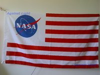 american banners - Flag of NASA x cm Polyester United States American US Star and Stripes Space Logo Officially Banner