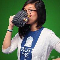 2016 bricolaje creativo Build-a-ladrillo café / bebida de café Lego PixelBlocks <b>Mega Blocks</b> KRE-O o ladrillos K'NEX ladrillos compatibles Copa 2015 NUEVA LLEGADA