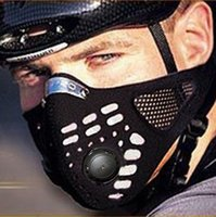 Wholesale WOLFBIKE Riding Cycling Masks Bicycle Wind Proof Warm Protect Face Mask Black Anti Dust Motorcycle Mask Cycling Equipment BE107