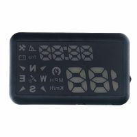 Wholesale New Arrival Universal Car HUD GPS Speedometer Head UP Display Digital Car Speedometer Overspeed Alarm Windshield Project