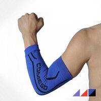 Wholesale Sports Safety Elastic Elbow Brace Sleeve Elbow Pads for Volleyball Tennis Elbow Support Absorb Sweat Elbow Protection