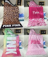 Wholesale DHL Fedex Free styles New Arrival Fashion VS PINK sexy Secret exclusively women beach Bath towel M461