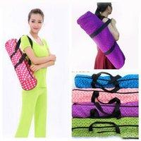 Wholesale Yoga Mat Bag popular Portable Color yoga backpack for crossfit yoga training healthy beautity sports gym bag