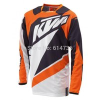 Wholesale Quick Dry Men Motorcycle Jersey Moto wear Motocross Racing T shirt long sleeve Polyester M to XXL
