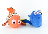 Wholesale Clown Stuffed Toy - High Quality Finding Dory Finding Nemo Plush Toys The Clown Fish Nemo Dory Marlin Stuffed Animals Doll Toys Kid Christmas Promotion Gift