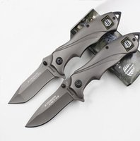 Wholesale Strider Knives Mick C HRC Titanium Blade Knife Outdoor Camping Hiking Tactical Knife Outdoor Military Clasp Titanium Knives